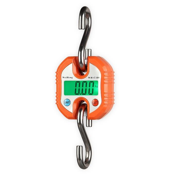 WH-C100 Závěsná váha do 150kg oranžová