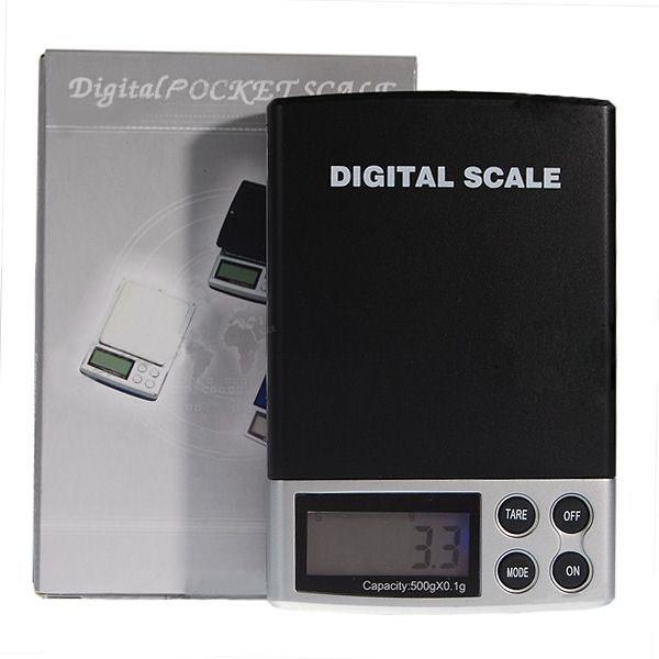 Kapesní precizní váha do 500g přesnost 0,1g