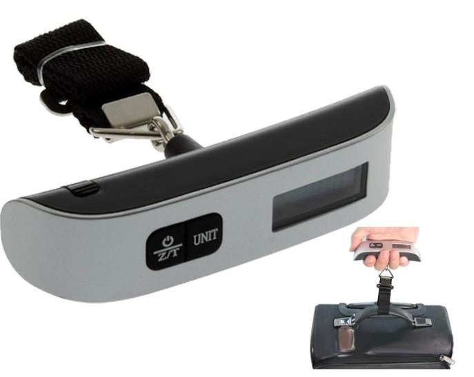 Digitální cestovní závěsná váha na zavazadla do 50kg