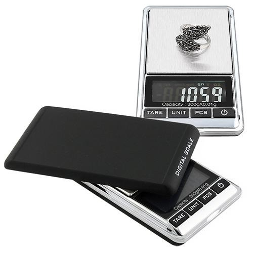 KL-117 Mini přesná digitální kapesní váha do 300g přesnost 0,01g