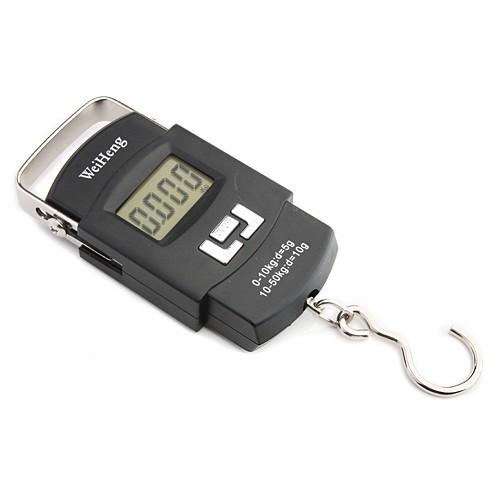 WH-A08 Digitální závěsná váha do 50kg s přesností 5g / 10g
