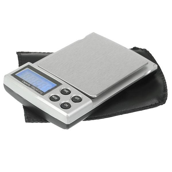 Přesná digitální kapesní váha do 100g přesnost 0,01g