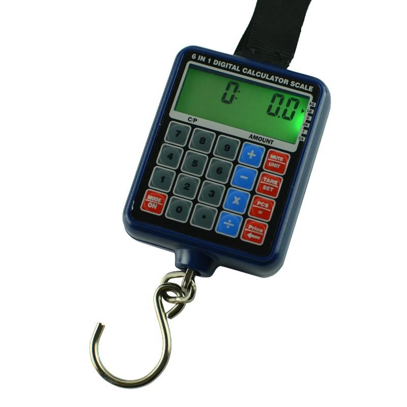 6v1 digitální závěsná váha do 50kg / 10g