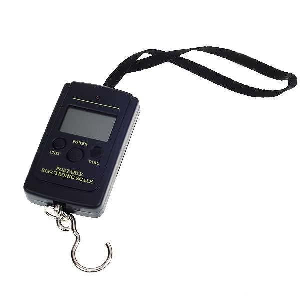 Přenosná digitální elektronická závěsná váha do 40kg