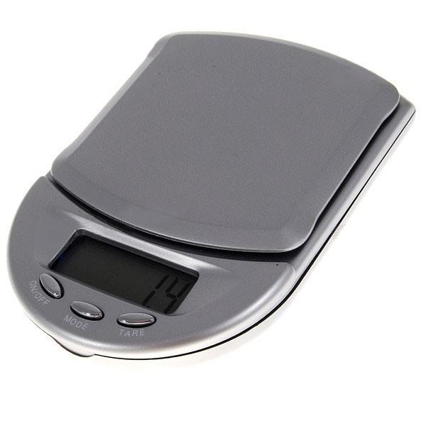 Precizní mini digitální kapesní váha do 500g přesnost 0,1g