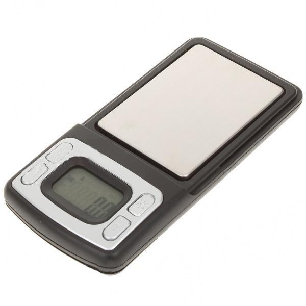 Kapesní digitální mikrováha do 500g přesnost 0,1g